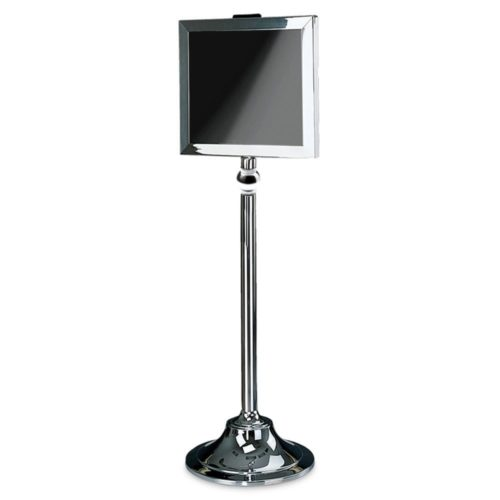 Stainless Steel Sign Stand - 6830-PS