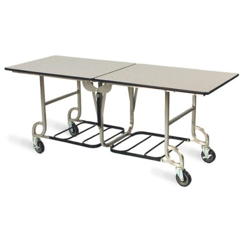 6-foot Mobile Folding Catering Table - 4941