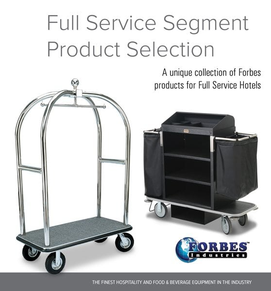 Full Service Segment Product Selection Cover