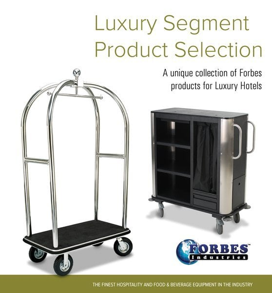 Luxury Segments Product Selection Cover Page